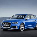 新型Audi RS 3 Sportback、新しいエンジンとよりシャープになった外観のAudi RS 3 Sportbackをジュネーブ国際モーターショーに出品
