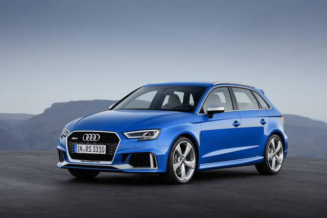 新型Audi RS 3 Sportback、新しいエンジンとよりシャープになった外観のAudi RS 3 Sportbackをジュネーブ国際モーターショーに出品 | Audi Japan Press Center - アウディ (3900)