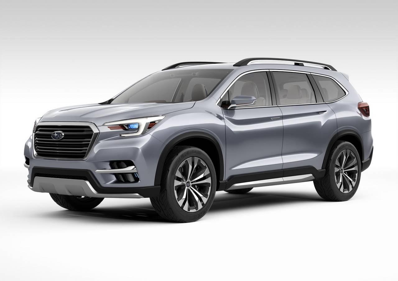 スバル 新型3列SUVの名称発表!「ASCENT(アセント)」のコンセプトカーを公開!市場への導入は2018年を予定