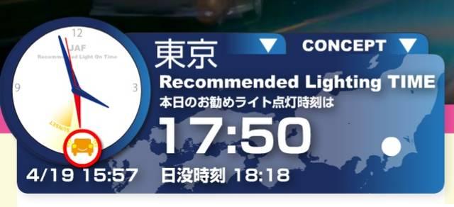 JAF | JAF Safety Light ヘッドライトの使い方 交通安全情報サイト (6651)