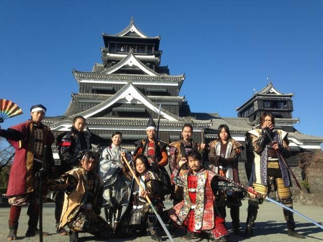 復興祈願!「おもてなし武将隊と巡る熊本城」|その他の親睦イベント|JAFイベント|JAFご当地情報 (6857)