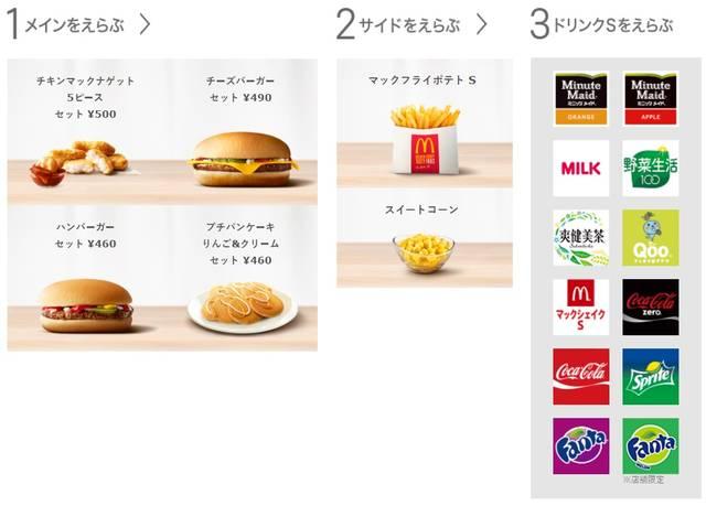 ハッピーセット(レギュラー) | メニュー情報 | McDonald's Japan (6979)