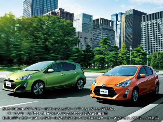 トヨタ アクア | ギャラリー | トヨタ自動車WEBサイト (7966)