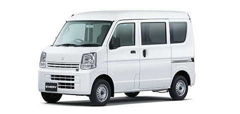 スズキ「エブリイ」全グレードと福祉車両に4速AT搭載車を設定し、より便利に。