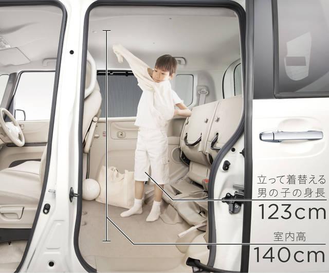 快適空間|インテリア|N-BOX|Honda (10910)