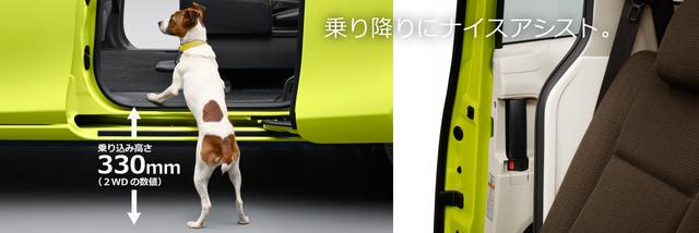トヨタ シエンタ | 室内・インテリア | スムーズな乗り降り | トヨタ自動車WEBサイト (12180)