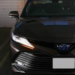 2017 トヨタ新型カムリ見てきた!画像レポート、先代から車格が上がったようだ!