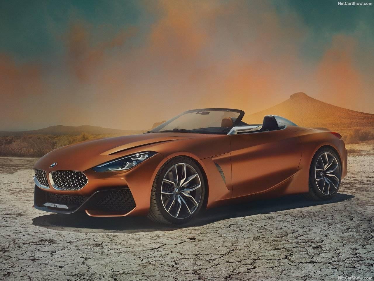 2018 BMW 次期新型Z4が見えた!Concept Z4発表!次期トヨタスープラとプラットフォームを共有!