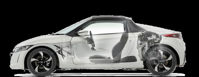 走行性能|安全・性能|S660|Honda (13758)