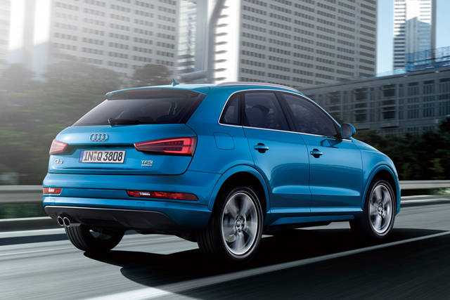 Audi Q3 / Audi Premium SUV Lineup (14179)
