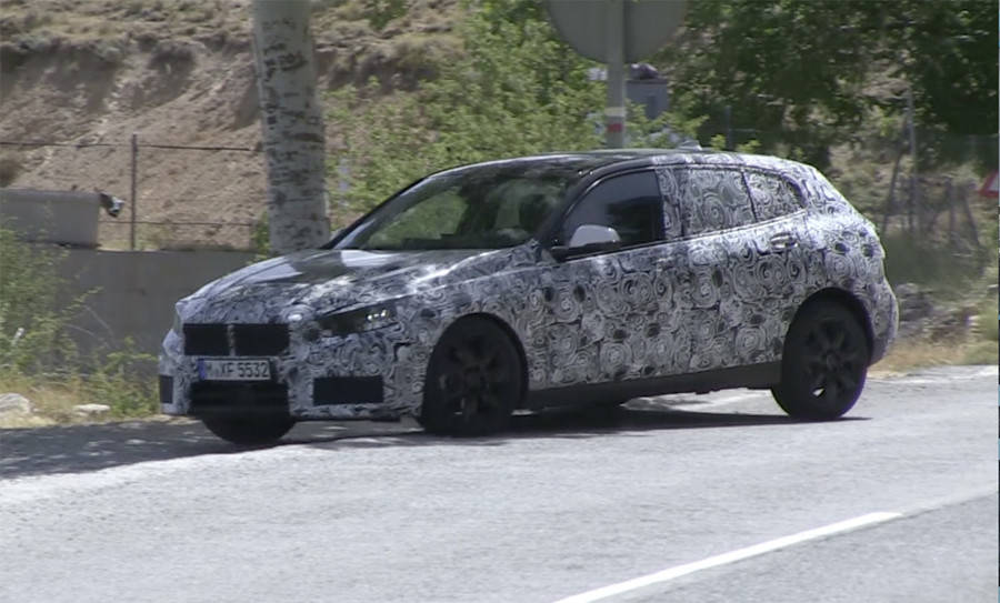 BMW次期新型1シリーズはFF化!欧州発売は2018年後半か?