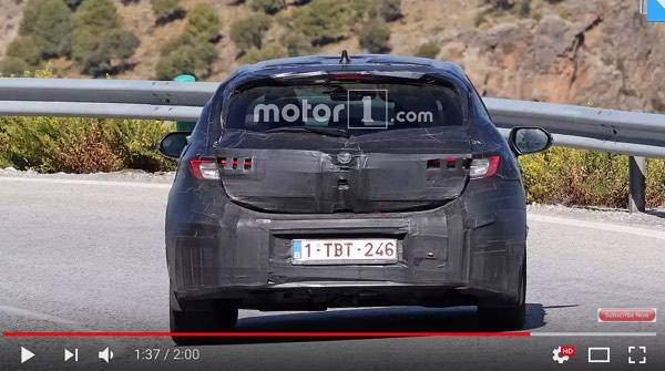 Next Gen Toyota Auris Corolla Spy Shots - YouTube (19353)