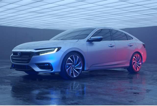 Honda | 2018年北米国際自動車ショーで新型ハイブリッド「INSIGHT(インサイト)」プロトタイプを世界初披露 (22030)