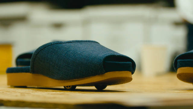 Hotel guests get a kick out of Nissan's self-parking slippers - Global Newsroom (23013)