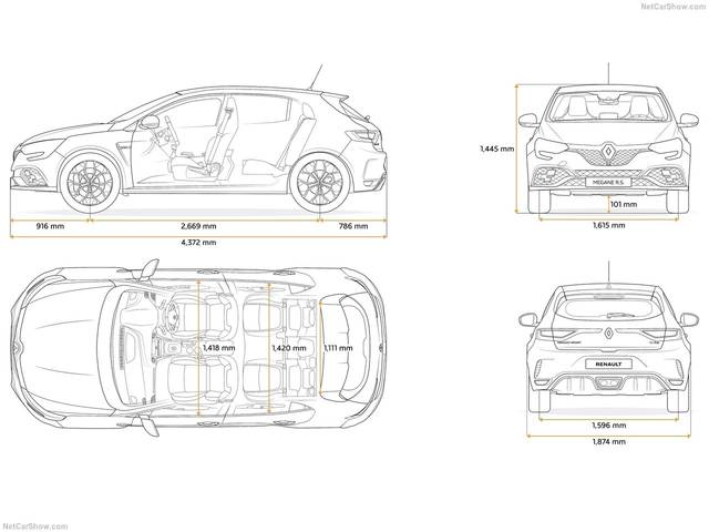 Renault Megane RS (23021)