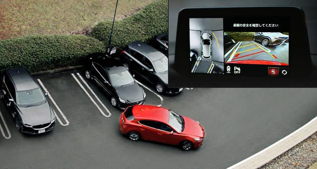 【MAZDA】CX-5 安全性能 - サポカーS・ワイドに該当する先進安全技術を全車標準装備 (23295)