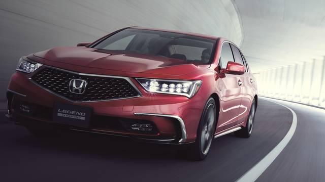 Honda Media Website|4輪製品リリース『「LEGEND」をマイナーモデルチェンジして発売』 (23309)