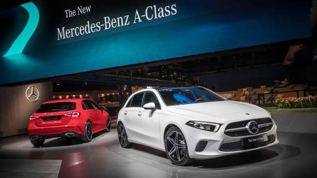 World Premiere of the new Mercedes-Benz A-Class. Amsterdam 2018 - Daimler Global Media Site (23382)