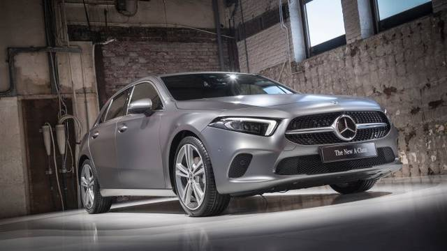 World Premiere of the new Mercedes-Benz A-Class. Amsterdam 2018 - Daimler Global Media Site (23390)