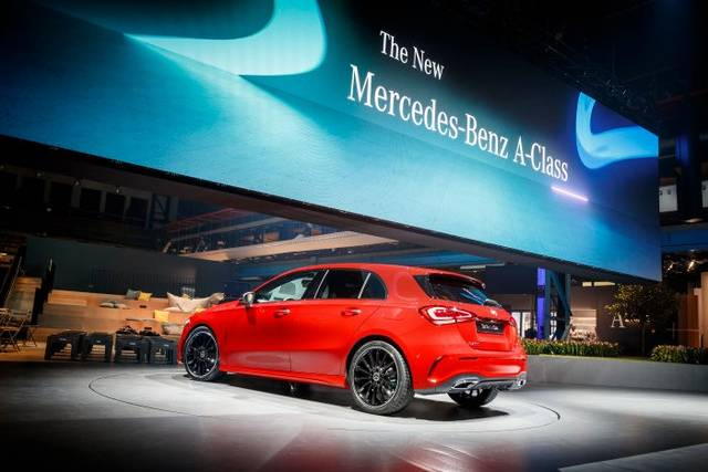 World Premiere of the new Mercedes-Benz A-Class. Amsterdam 2018 - Daimler Global Media Site (23423)