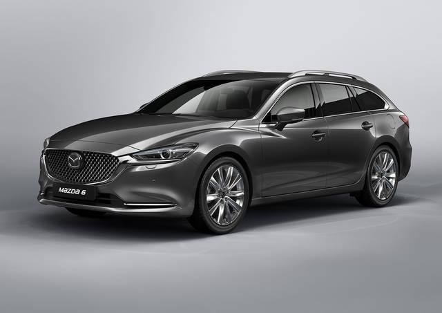 【MAZDA】マツダ、ジュネーブモーターショーで商品改良した「Mazda6」ワゴンを世界初公開|ニュースリリース (23428)