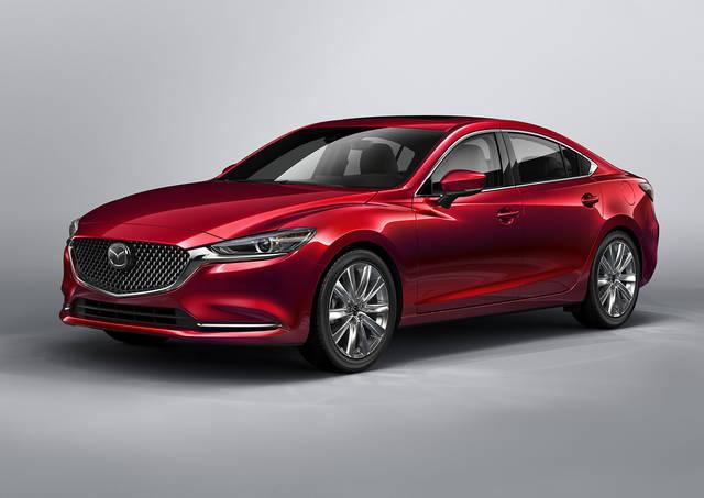 【MAZDA】マツダ、ロサンゼルス自動車ショーで商品改良した「Mazda6」を世界初公開|ニュースリリース (23432)