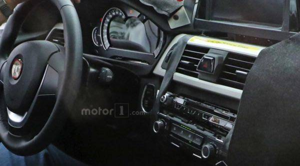 2018 BMW 3-Series prototype shows off unfinished interior (23469)