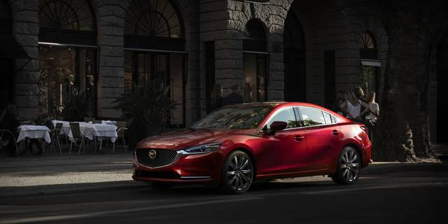 2018 Mazda 6 Turbocharged Sports Sedan – Mid Size Cars | Mazda USA (23644)