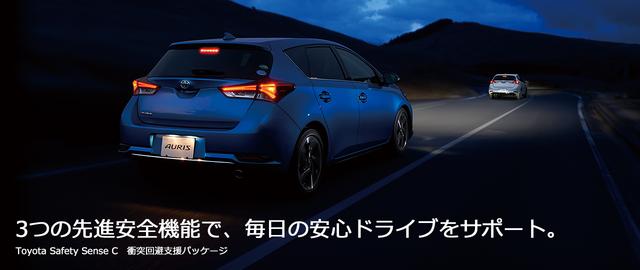 トヨタ オーリス | 安全装備 | Toyota Safety Sense C | トヨタ自動車WEBサイト (25403)