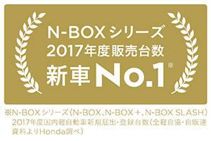 Honda | 「N-BOX」シリーズが2017年度 新車販売台数 第1位を獲得 (28171)