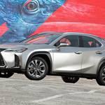 レクサスUXの発売時期は2018年12月に延びた!? 実車画像も公開!価格は400万円以下から?レクサスUX200・UX250h