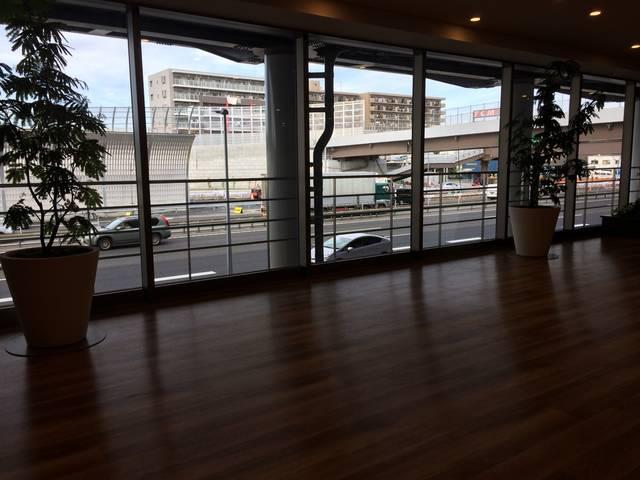 京葉市川PA(下り線)2F 癒しのスペース