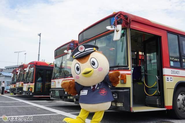 西東京バスの「にしちゅん」(今回は不参加)