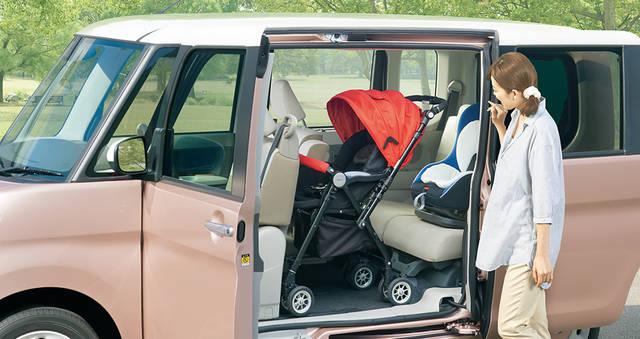 【公式】タントの車内空間と荷室|ダイハツ (31191)