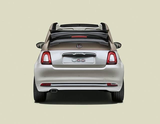 「Fiat 500C 60th」を発売  | FCAジャパン株式会社 (31263)