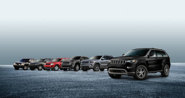 「Jeep<sub>®</sub> Grand Cherokee Sterling Edition」を発売<br>あわせてGrand Cherokeeシリーズを仕様変更  | FCAジャパン株式会社 (32434)