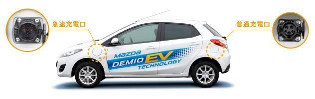 マツダのデミオEVの一般向けの市販はあるのか!?マツダの電気自動車の特徴とは?