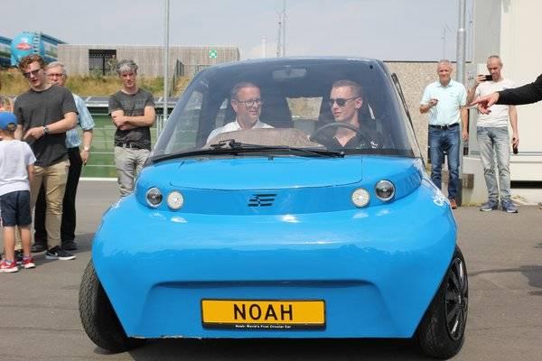 オランダの大学が100%リサイクル可能な電気自動車試作に成功