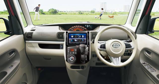 【公式】タントの車内空間と荷室|ダイハツ (38728)