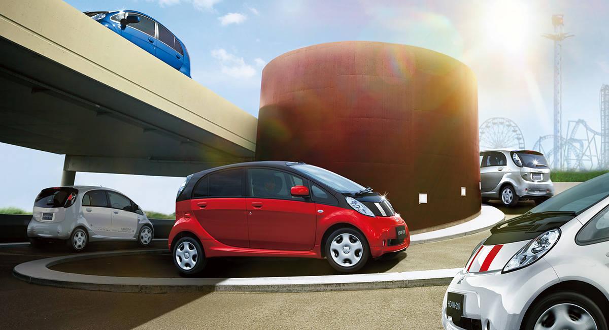 現在、軽自動車で唯一の電気自動車!三菱のi-MiEVを紹介します。