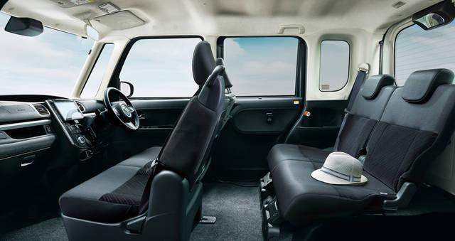 【公式】タントの車内空間と荷室|ダイハツ (39729)