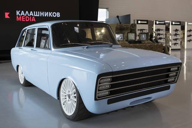 マジ? あのロシアの突撃銃メーカー、カラシニコフが、「電気自動車作りました」