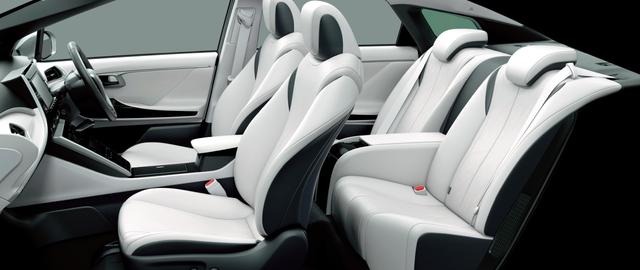 トヨタ MIRAI | 室内・インテリア | インテリア・シート表皮 | トヨタ自動車WEBサイト (40621)