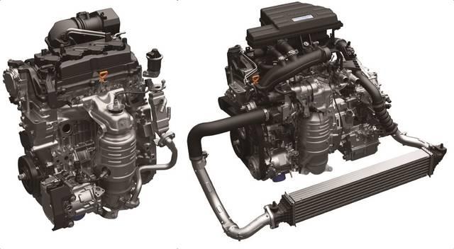 左2.0Lアトキンソンサイクル/右1.5L直噴ターボ