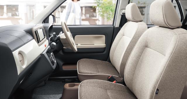 【公式】ミラ トコットの車内空間と荷室|ダイハツ (41237)