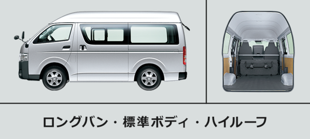 トヨタ ハイエース バン | トヨタ自動車WEBサイト (41932)