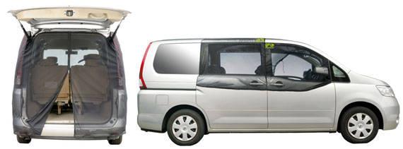 風を通して、虫を防ぐ 『 防虫ネットVer.2 』発売|車中泊アイテム|プレスリリース|カー用品 総合メーカー カーメイト(CARMATE) (42340)