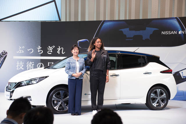 Grand Slam champion Naomi Osaka joins Nissan as brand ambassador - Global Newsroom (42842)