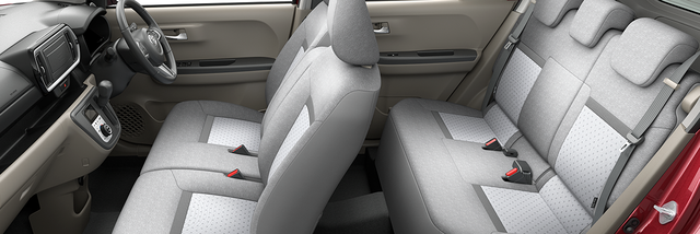 トヨタ パッソ | 室内・インテリア | 室内空間・シート表皮 | トヨタ自動車WEBサイト (43421)