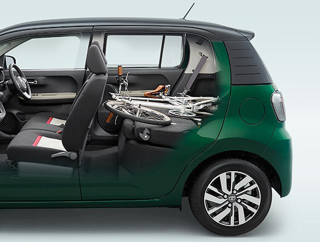 トヨタ パッソ | 室内・インテリア | 室内空間・シート表皮 | トヨタ自動車WEBサイト (43423)